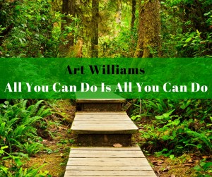 Art Williams - All You Can Do Is All You Can Do