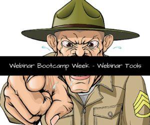Webinar Bootcamp Week - Webinar Tools