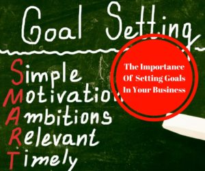 The Importance Of Setting Goals In Your Business