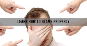MINDSET TIPS- Learn How To Blame Properly