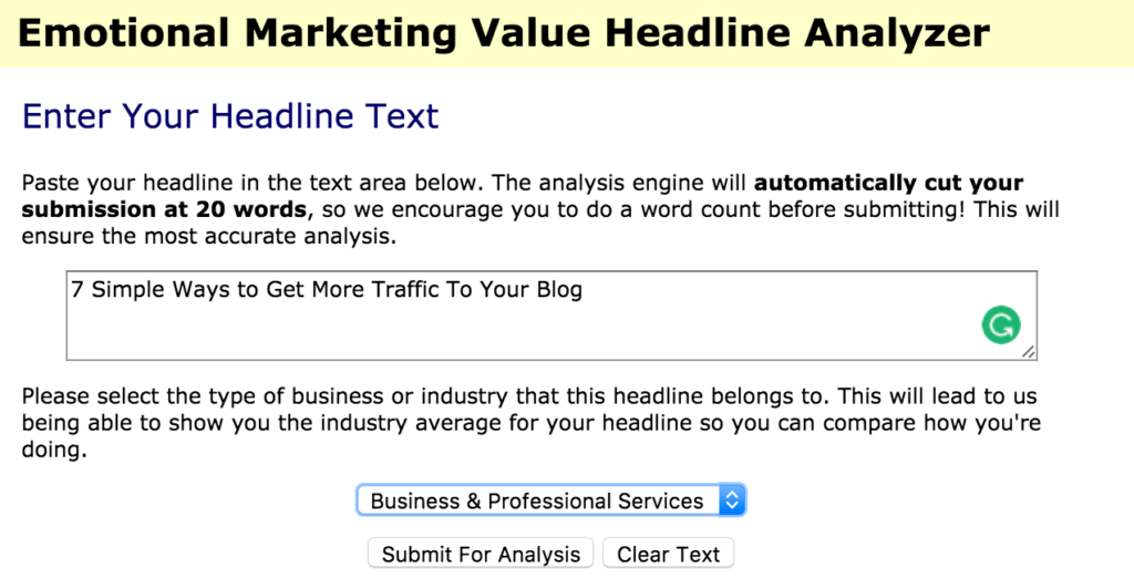 Advanced Marketing Institute Headlines
