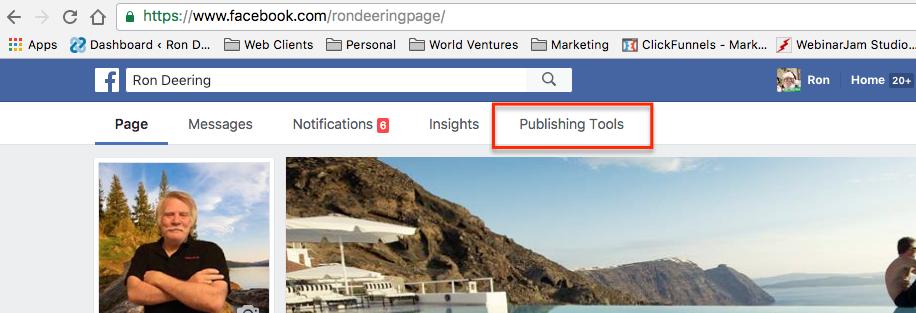 fanpage-publising-tools-menu