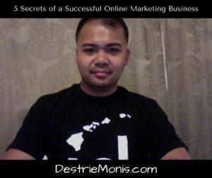 5 Secrets of Successful Online Marketing Business