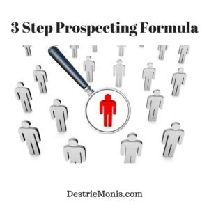 3 Step Prospecting Formula