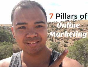 7 Pillars of Online Marketing