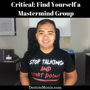 Critical_ Find Yourself a Mastermind Group