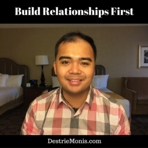 build-relationships-first