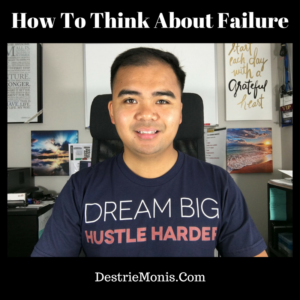 How To Think About Failure