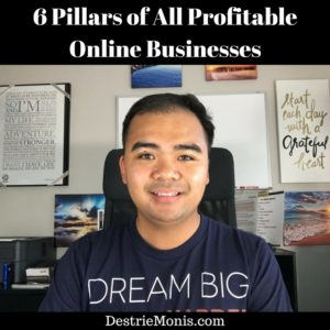 6 Pillars of All Profitable Online Businesses