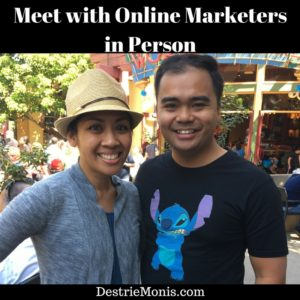 Meet with Online Marketers in Person
