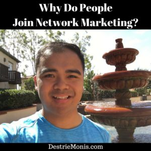 Why Do People Join Network Marketing-