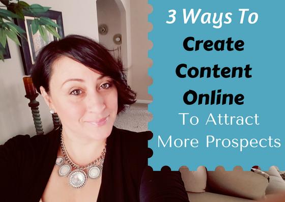 Create Content Online