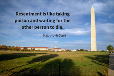 letting go of resentment, #MnMInsights