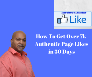 Generate over 7k page likes