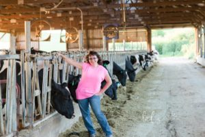 me and my cows