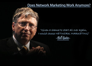 Building a free network marketing business