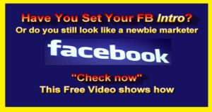 How To Set Up Your Facebook Profile Intro