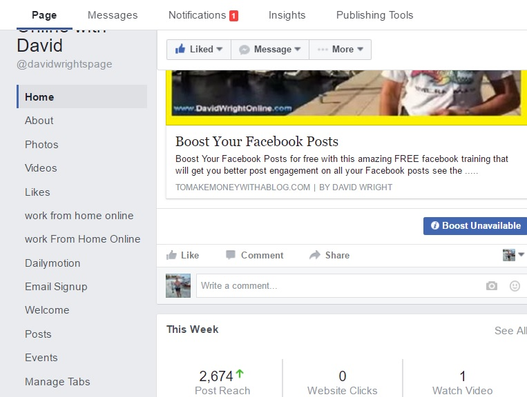 Boost Your Facebook Posts For Free