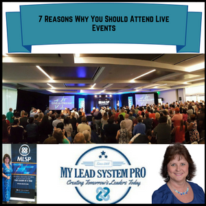 7 Reasons Why You Should Attend Live Events