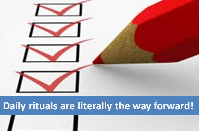 How daily rituals are the easiest way to catapult your home business success