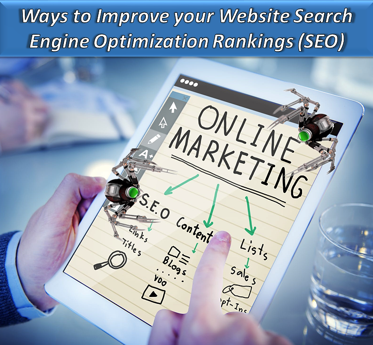 how to add search engine optimization to website
