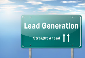 "Highway Signpost ""Lead Generation"""