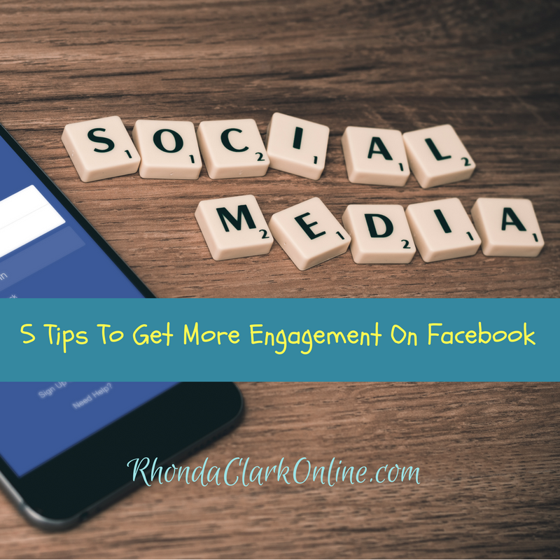 5 tips to get more engagment on Facebook