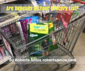 Are Depends On Your Grocery List-