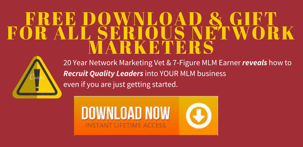 Motivate your new and existing network marketing team recruit quality leaders malvernweather Choice Image