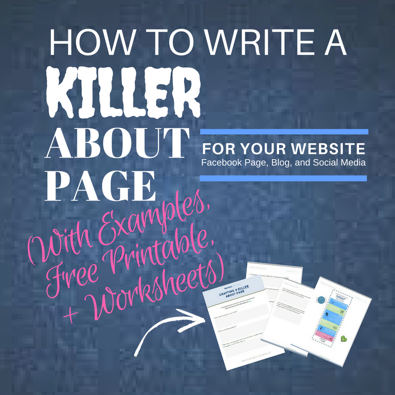 How to Write a KILLER About Me Page
