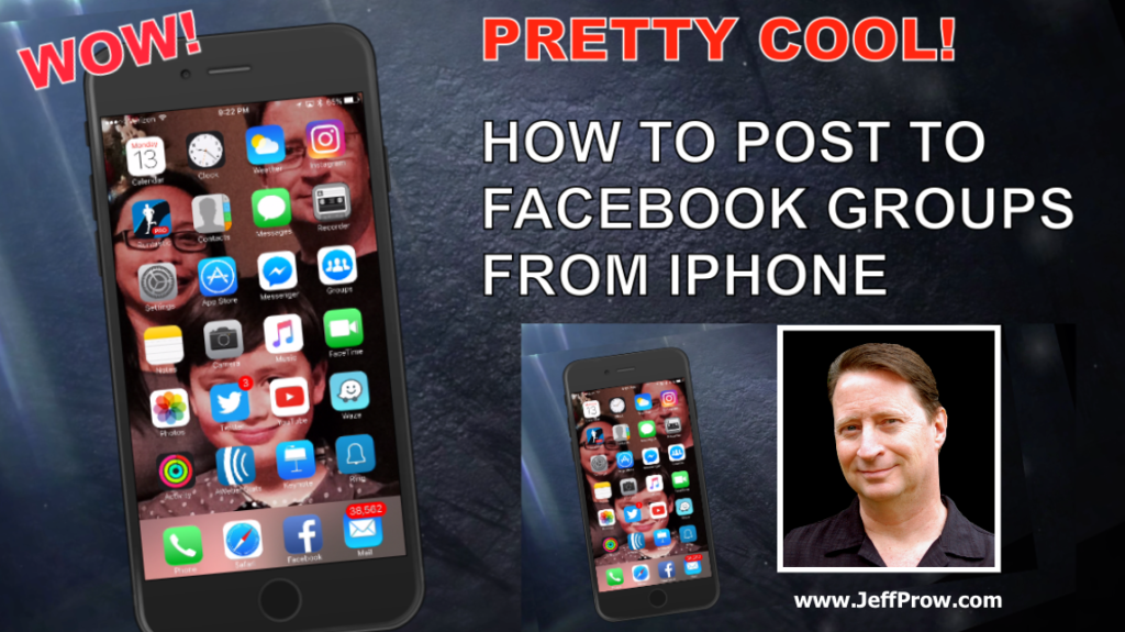How To Post To Facebook Groups From iPhone