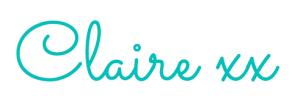 Claire new signature