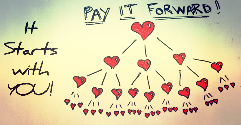 Pay it forward in 2016