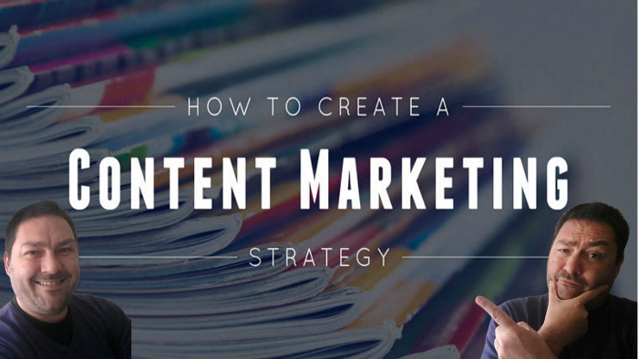 Create a content marketing strategy!