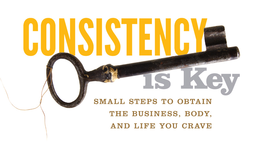 be consistent with your daily network marketing plan