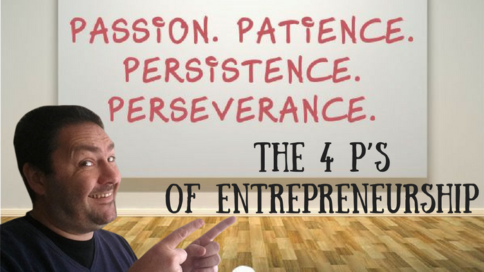 The 4 P's of Entrepreneurship
