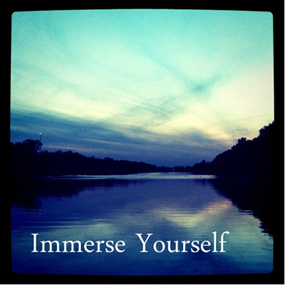 Immerse yourself in success