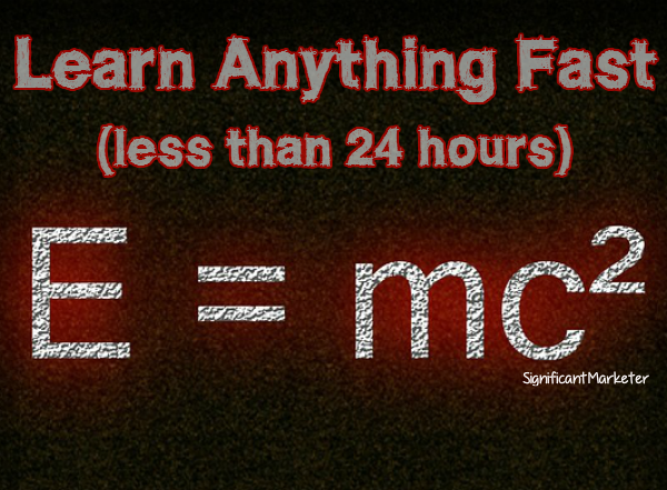 Learn Anything Fast