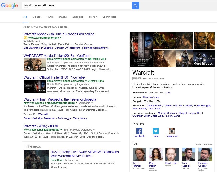 Google Needs People Searching