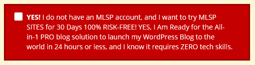 MLSP SITES MLM Attraction Marketing Edition