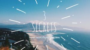 3 Secrets, Facebook, Posting