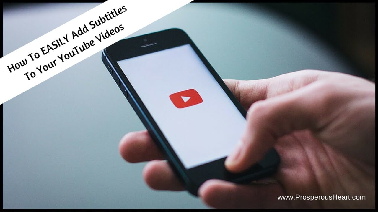 How To EASILY Add Subtitles To YouTube