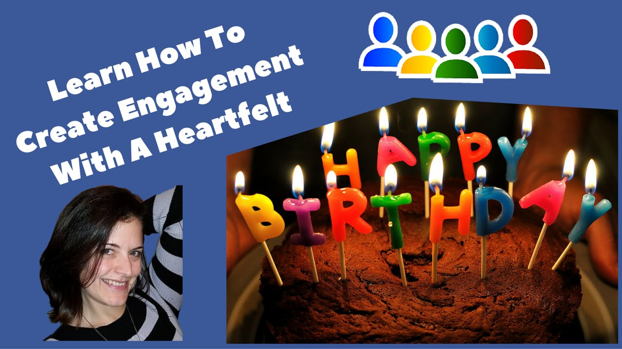 Create Engagement Using Facebook Birthdays