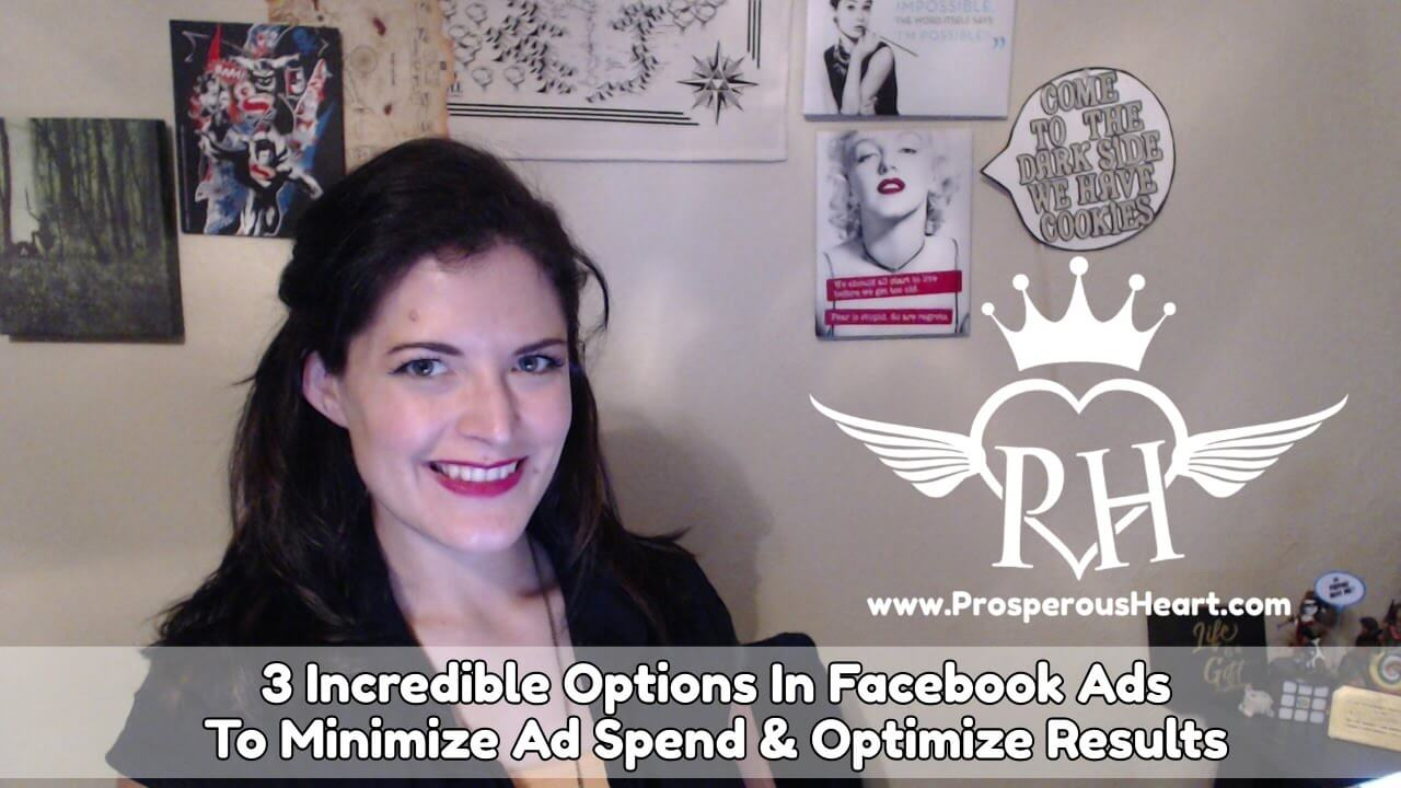 3 Incredible Facebook Advertising Options To Minimize Ad Spend And Increase Results
