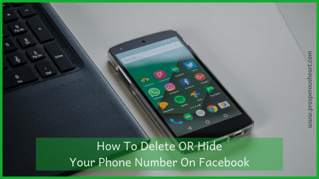 How To Hide Or Delete Phone Number On Facebook