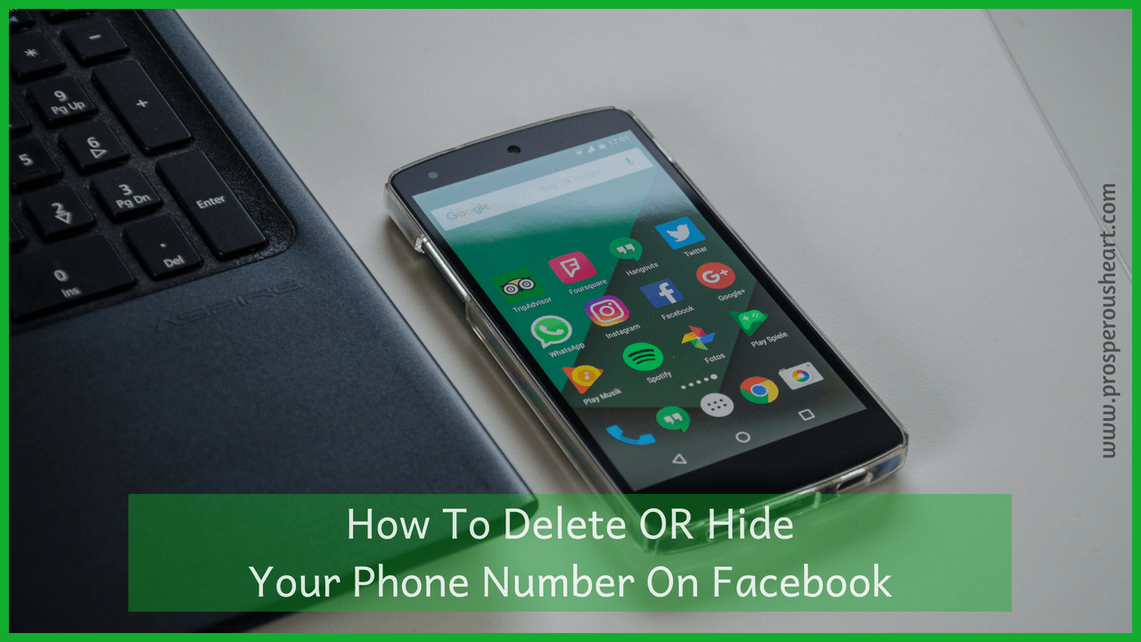 How To Delete OR HideYour Phone Number On Facebook