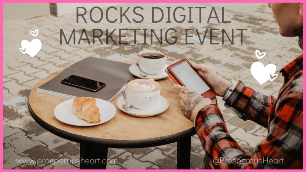potential rocks digital marketer at coffee shop