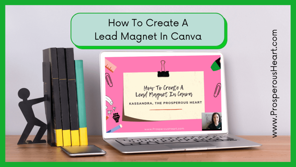 """Blog Image For """"How To Create A Lead Magnet In Canva"""""""