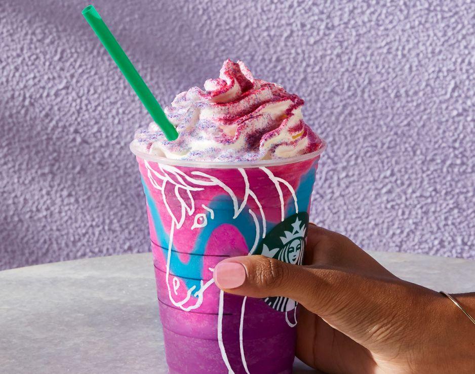 unicorn frappuccino