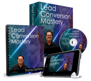 Lead Conversion Mastery product box